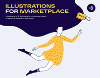 Illustrations For Marketplace