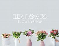 Flower Shop | Rebranding Eliza Flowers