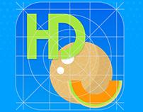 HoneyDew iOS App Icon.
