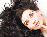 "Cosmetic company: ""MARKELL cosmetics"" (Brand book)."