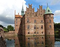 Hygge familie tur til Egeskov Slot på Fyn