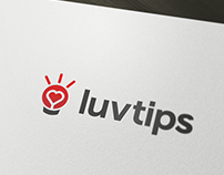 Luvtips – Unused logo design proposal