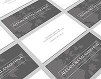 SALAMAKHINA Azerbaijan - B-cards&Broshure