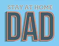 Stay at Home Dads Infographic
