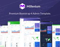 Millenium - Bootstrap 4 Dashboard