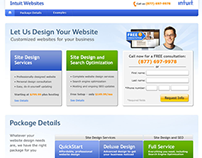 Intuit Websites : Microsite Redesign