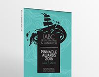 IABC NL PINNACLE AWARDS Event logo design