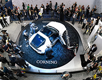 Corning Incorporated Exhibition Booth @ CES 2017