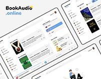 BookAudio.online — Web–Design   UX/UI