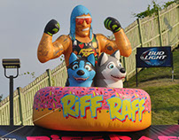 RiFF RAFF Warped Tour Inflatable
