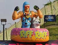 RiFF RAFF Warped Tour Inflatable