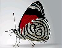 Butterfly. Corel Draw