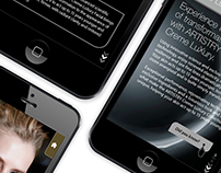 iPhone catalog layouts for RR Donnelley