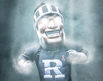 "Rutgers Football Halloween ""Game Time"" Graphic"