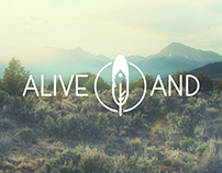 Logodesign for AliveAnd – Health and Life-Coaching