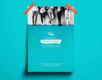 """Pedimos la Palabra"" Official Poster / Proposal No. 2"