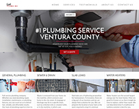 Rob's Plumbing | Web Design