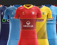 Hyundai A-League 2017/18 Kit Concepts