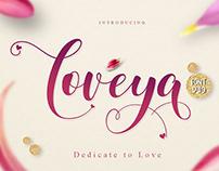 FREE FONT Hearts - Valentine - Loveya