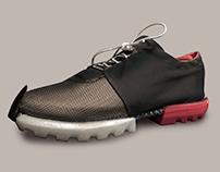 3D printed bike shoe