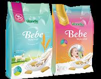 Vitanella | Bebe Bisküvisi Ambalaj tasarımı