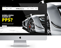 PPS Autoshine - Website Design