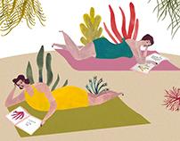 Holidays - P. Kahlo - Watercolour