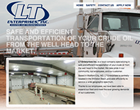 Web Design - LT Enterprises (2012)