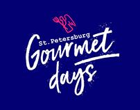 Brand identity: Gourmet days gastronomic festival