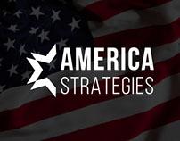 America Strategies   Logo Design