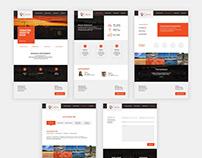 Construction Website UI