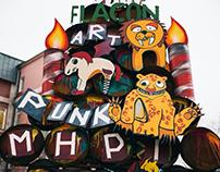 Crazy Elka на Флаконе