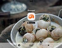 Escargot: Support website