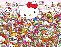 Hello Kitty's 45th Anniversary Group Show