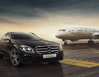 Mercedes Benz & Etihad Airways Partnership
