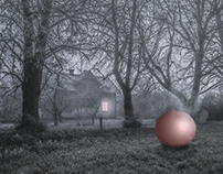 The pink sphere