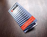 Буклет для компании B&G. Рафшторы.