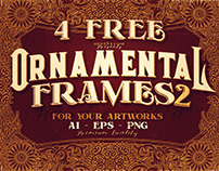 4 Free Ornamental Frames 2