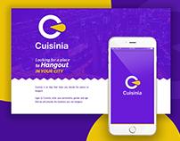 Cuisinia App UI UX