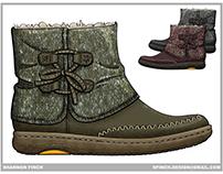 Footwear Design - Slippers & Fur