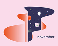 November — Illustration