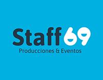 Staff69 - Brand design