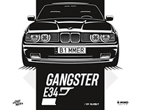 BMW E34 - Gangster