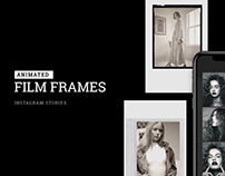 Free Animated Film Frames Instagram Story