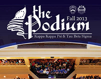 The Podium, Fall 2013