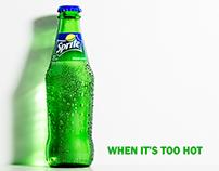 Sprite bottle photo.