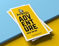 Trifold brochure design | Jimmy's Experience Tours