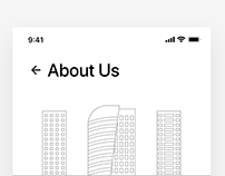 About Us/ Contact Us Screen
