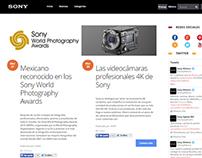 Blog Sony México