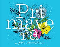 """""""Primavera por siempre"""" Mek Frinchaboy coloring book"""